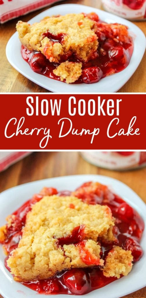 Slow Cooker Cake Recipes With Yellow Cake Mix  Slow Cooker Cherry Dump Cake Recipe