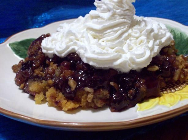 Slow Cooker Cake Recipes With Yellow Cake Mix  Crock Pot Blueberry Dump Cake Recipe