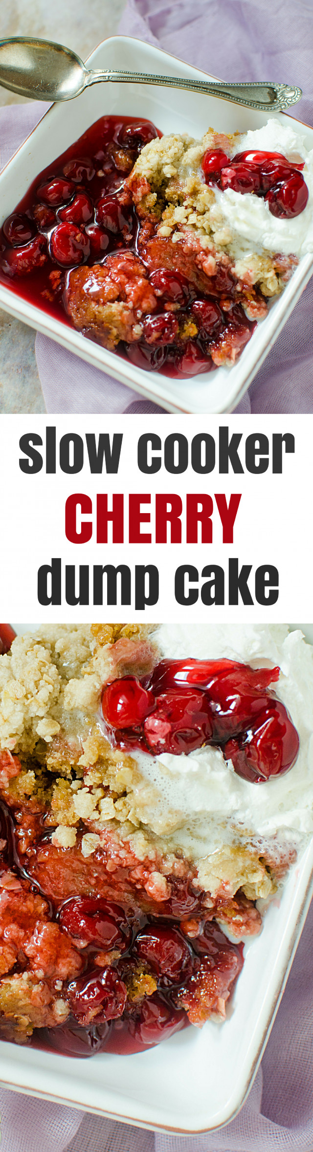 Slow Cooker Cake Recipes With Yellow Cake Mix  Slow Cooker Cherry Cake Mix Dump Cake Recipe
