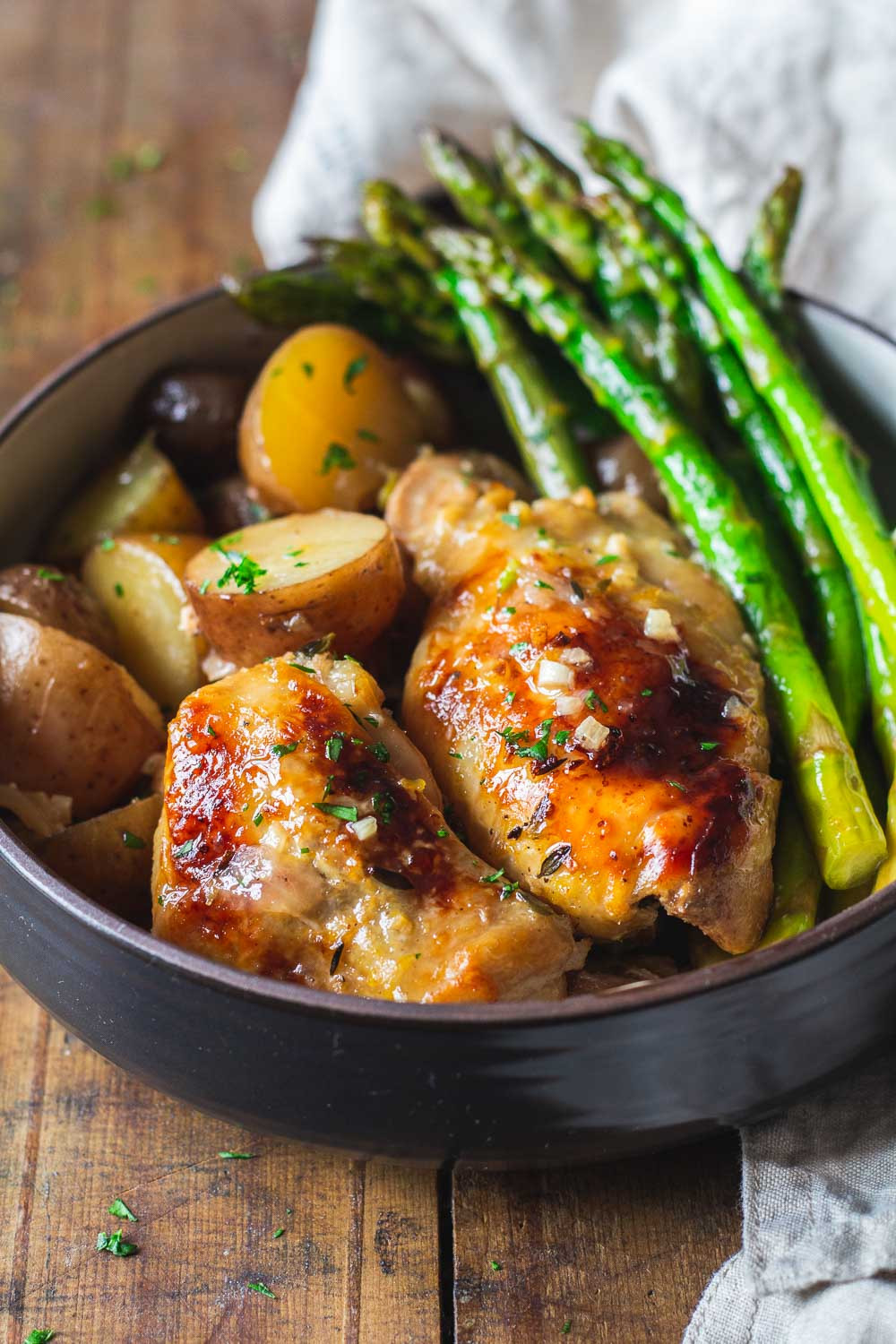 Slow Cooker Chicken Thighs  Easy Slow Cooker Lemon Chicken Green Healthy Cooking