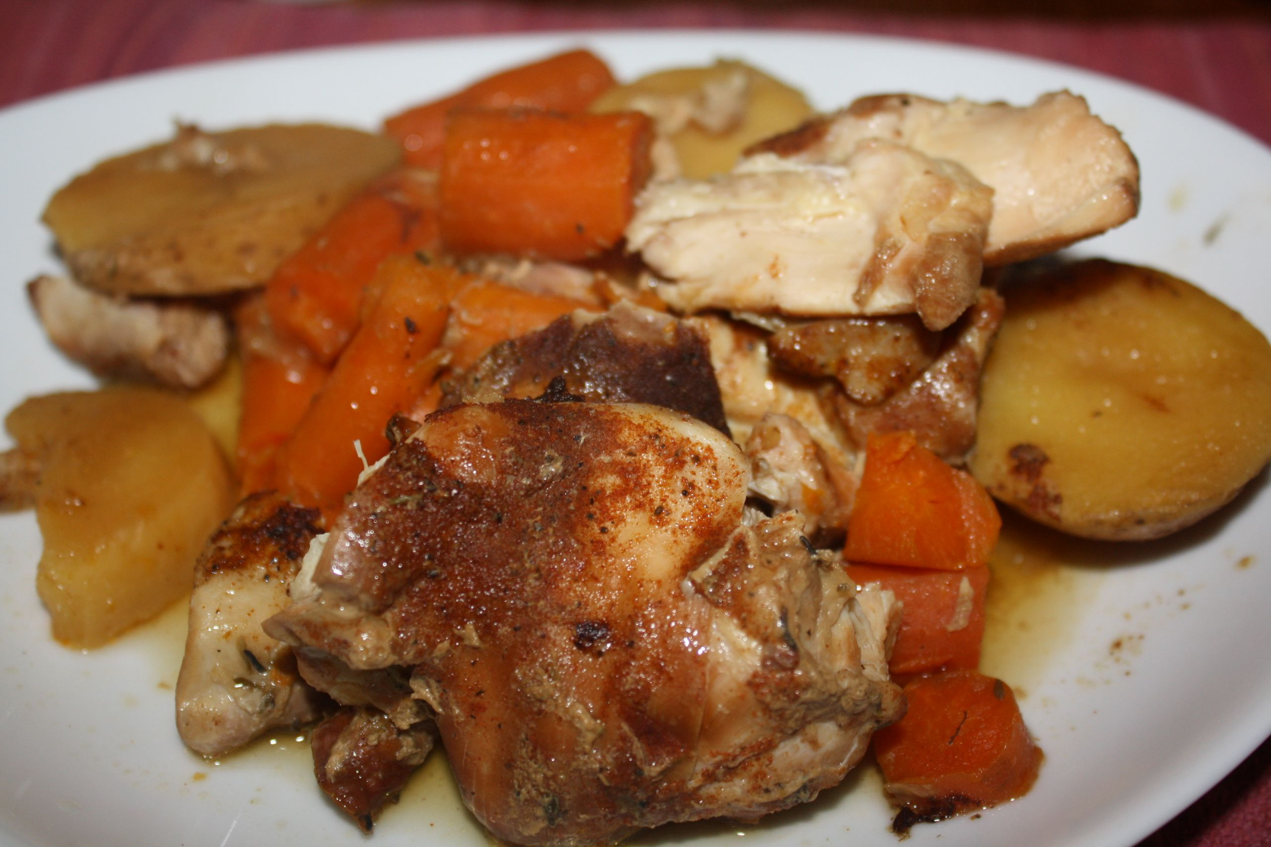 Slow Cooker Chicken Thighs  Slow Cooker Chicken Thighs