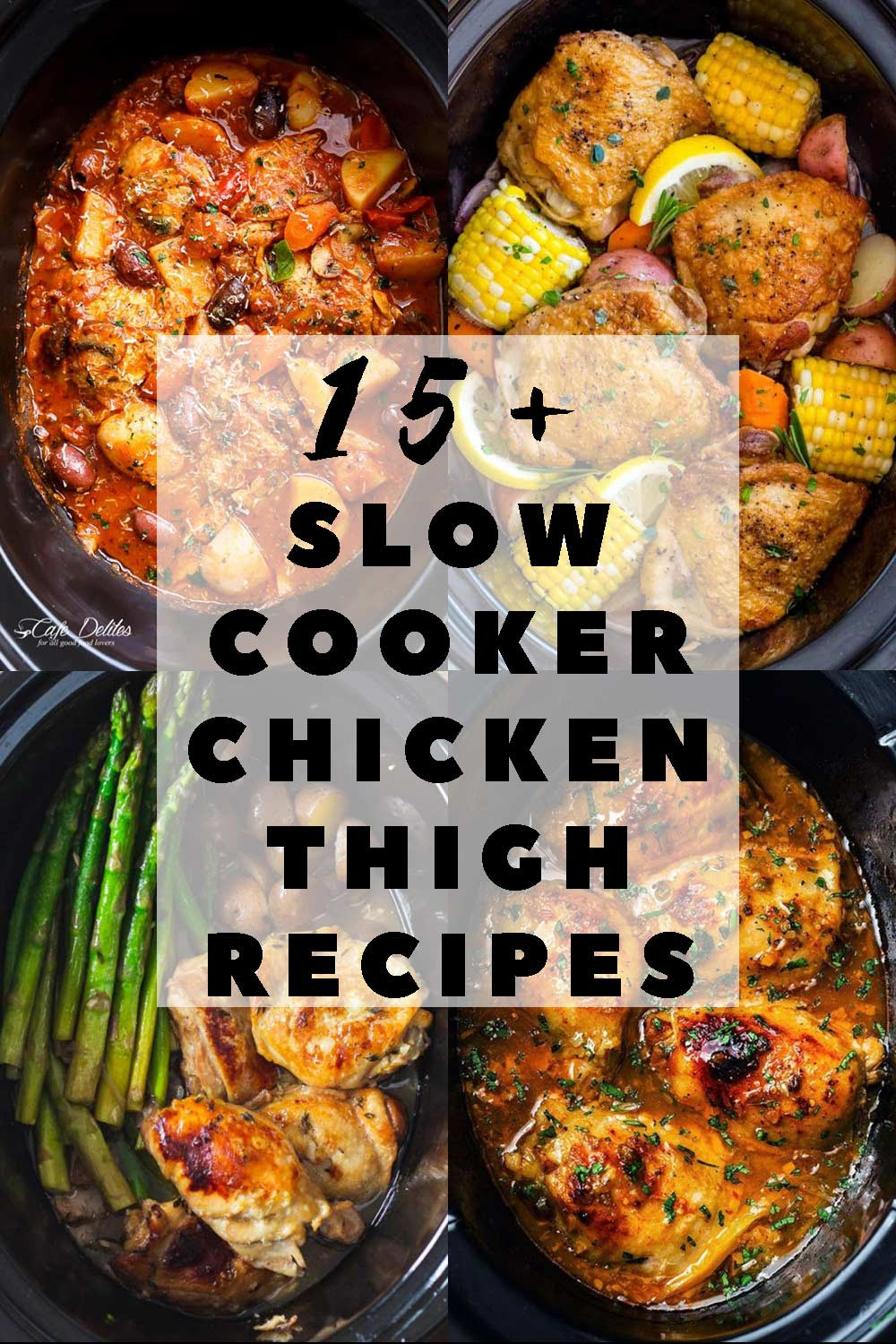 Slow Cooker Chicken Thighs  The 15 Best Slow Cooker Chicken Thigh Recipes Green