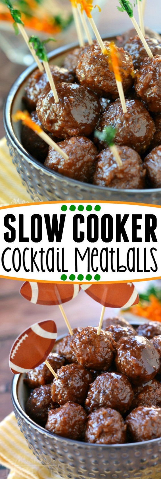 Slow Cooker Meatball Appetizer  Slow Cooker Cocktail Meatballs Mom Timeout