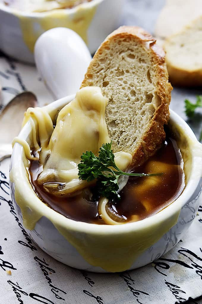 Slow Cooker Onion Soup  Slow Cooker French ion Soup