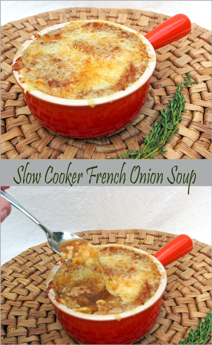 Slow Cooker Onion Soup  Slow Cooker French ion Soup – Gravel & Dine