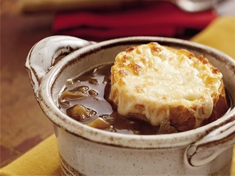 Slow Cooker Onion Soup  Sunday Slow Cooker French ion Soup Slender Kitchen
