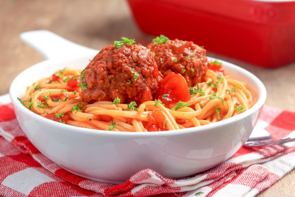 Slow Cooker Spaghetti And Meatballs  Slow Cooker Spaghetti and Meatballs Recipe