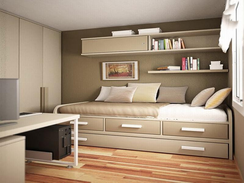 Small Bedroom Solutions  Inspiring Clever Storage Solutions for Small Bedroom Van