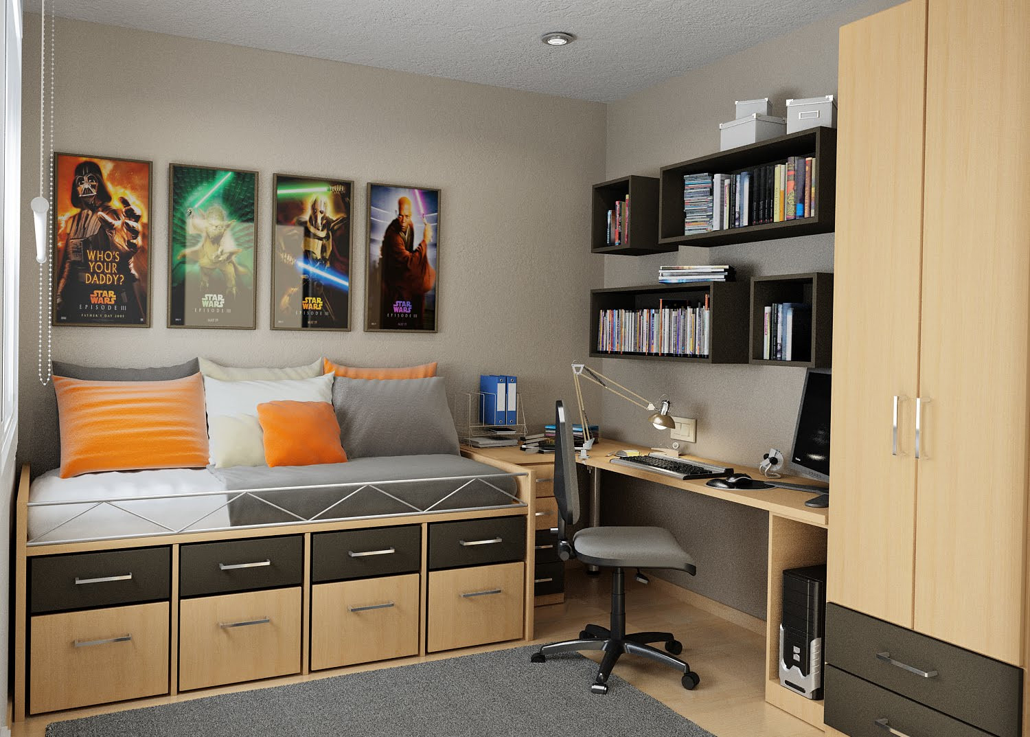 Small Bedroom Solutions  Small Bedroom Storage Solutions Designed to Save up Space