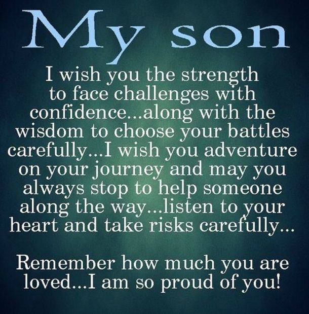 Son Quotes From Mothers  10 Best Mother And Son Quotes