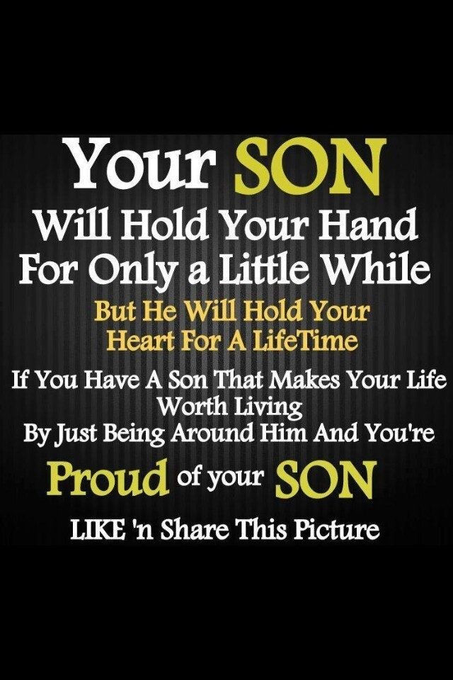 Son Quotes From Mothers  20 Mother & Son Inspirational Quotes