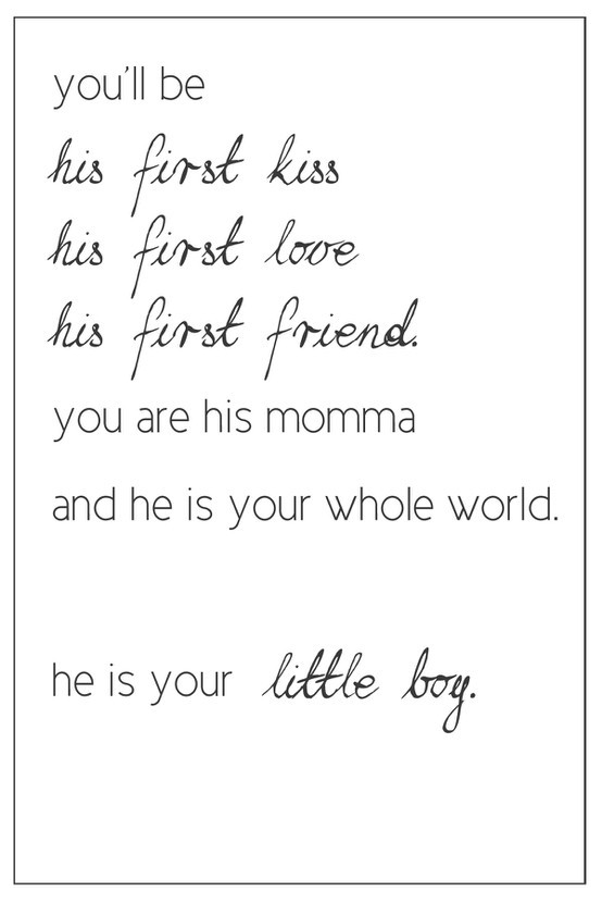 Son Quotes From Mothers  Favorite Mother & Son Quotes and Sayings