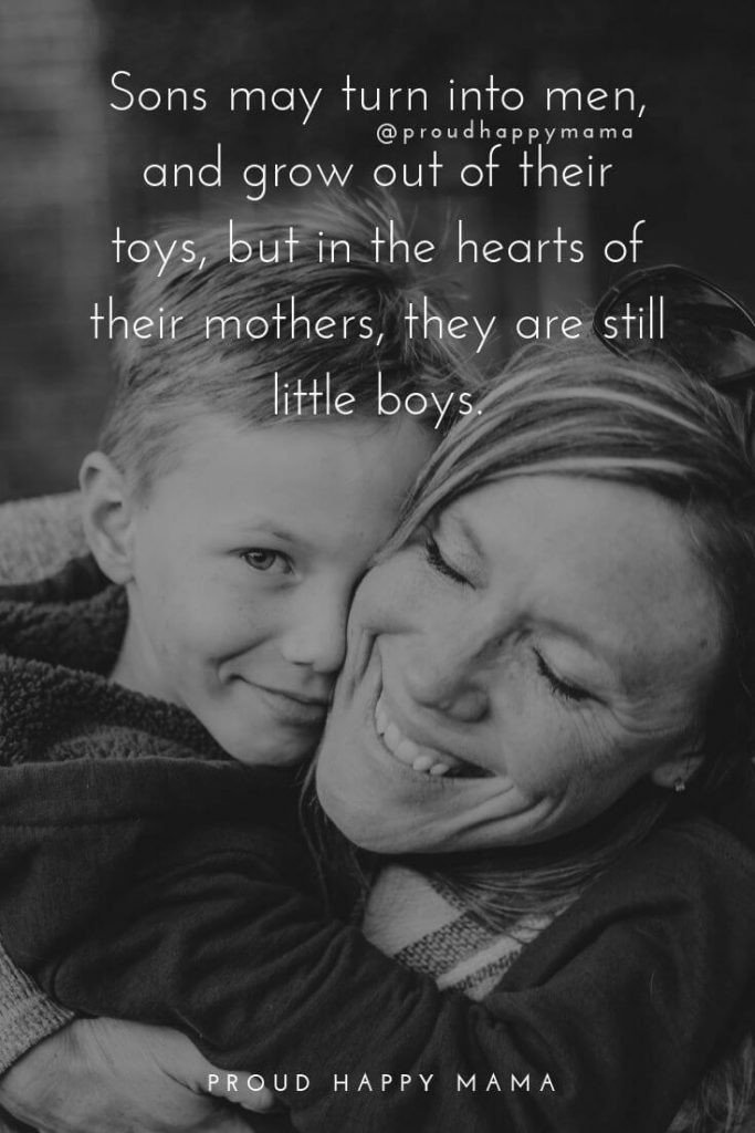 Son Quotes From Mothers  30 Beautiful Mother And Son Quotes And Sayings [With ]