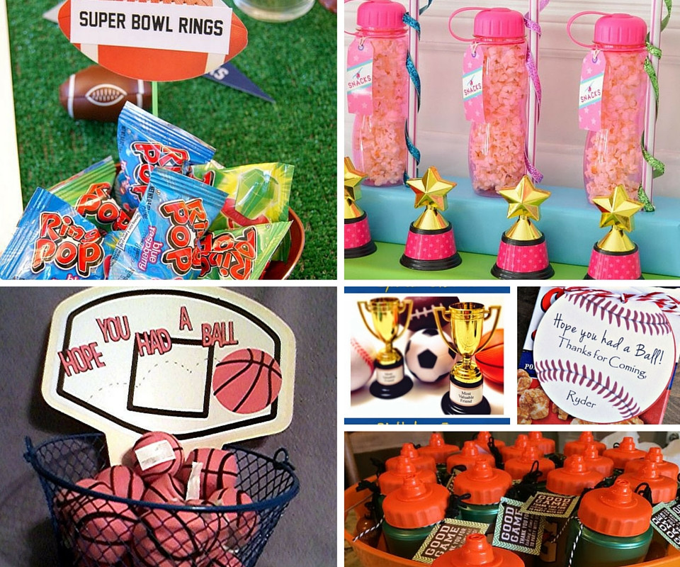 Sports Gift Ideas For Boys  Sports Party Ideas