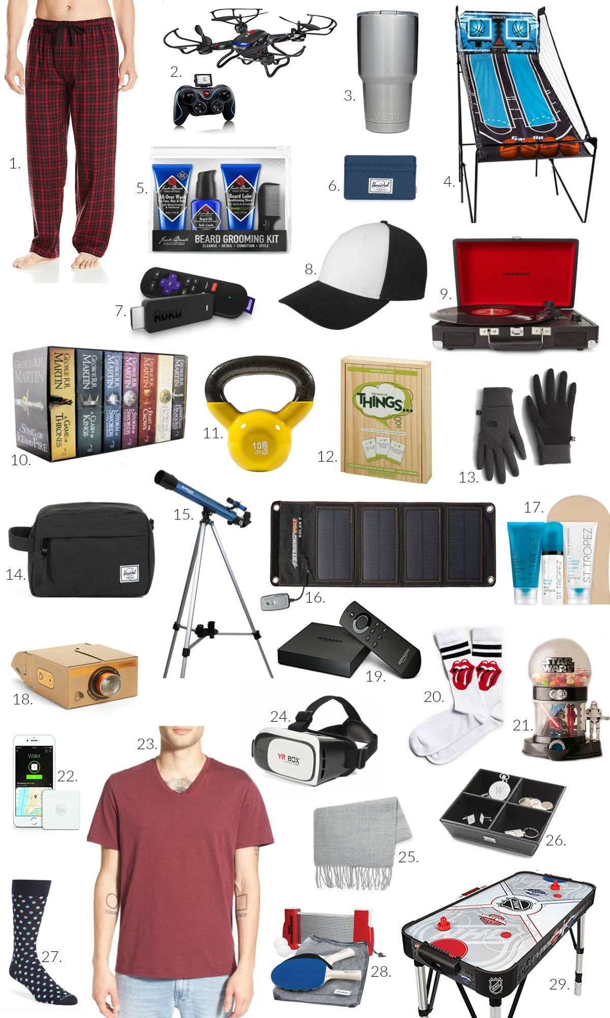 Sports Gift Ideas For Boys  Gift Ideas for Him Under $100 Gift Guide