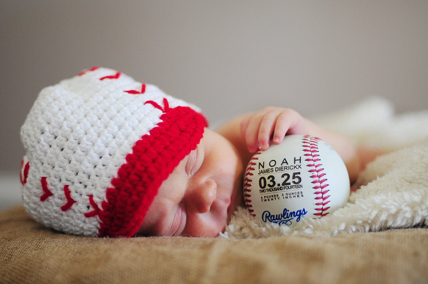 Sports Gift Ideas For Boys  Personalized Baseball Birth Announcement Baby Boys Gift