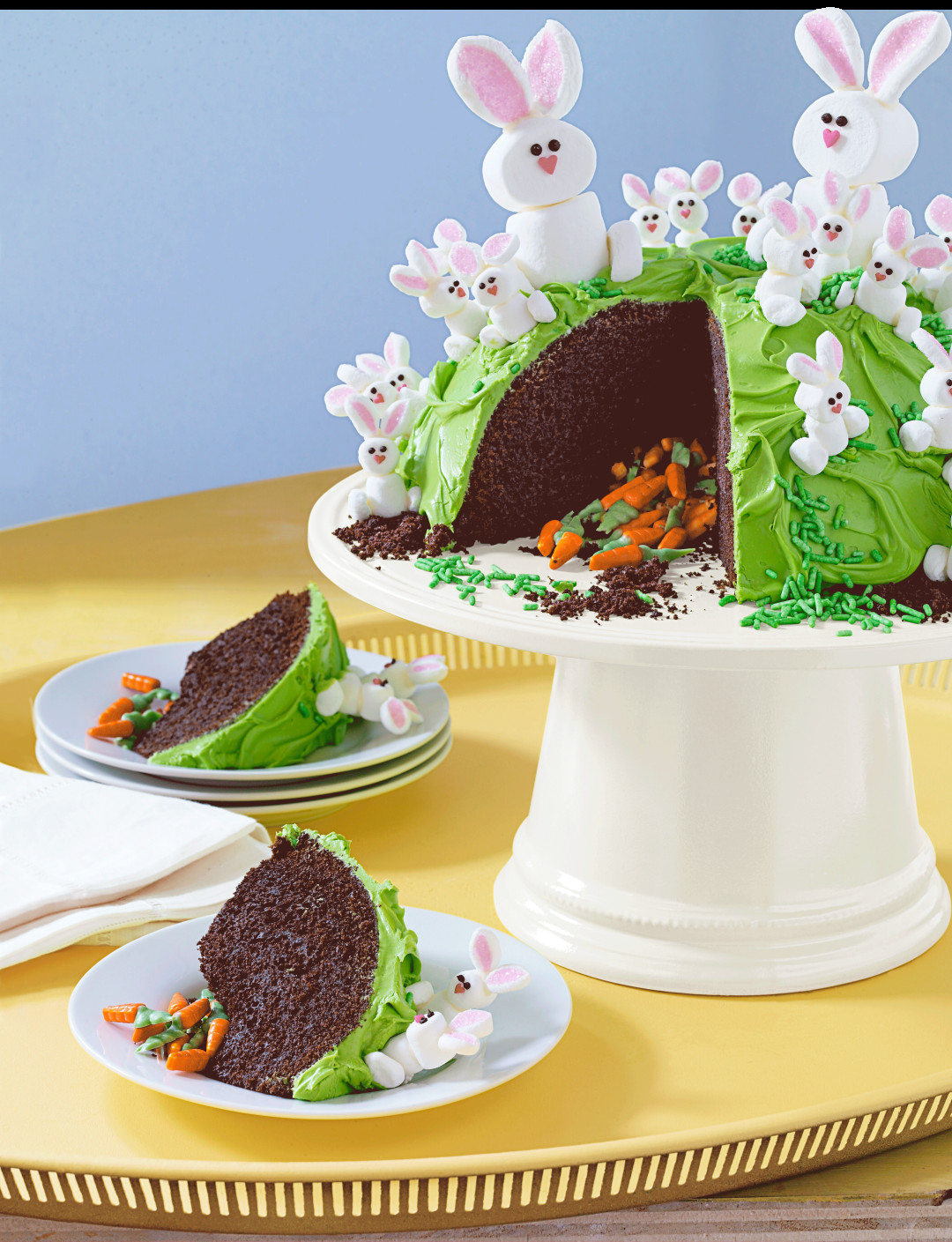 Spring Cake Recipes  Candy Filled Easter Cake Recipe
