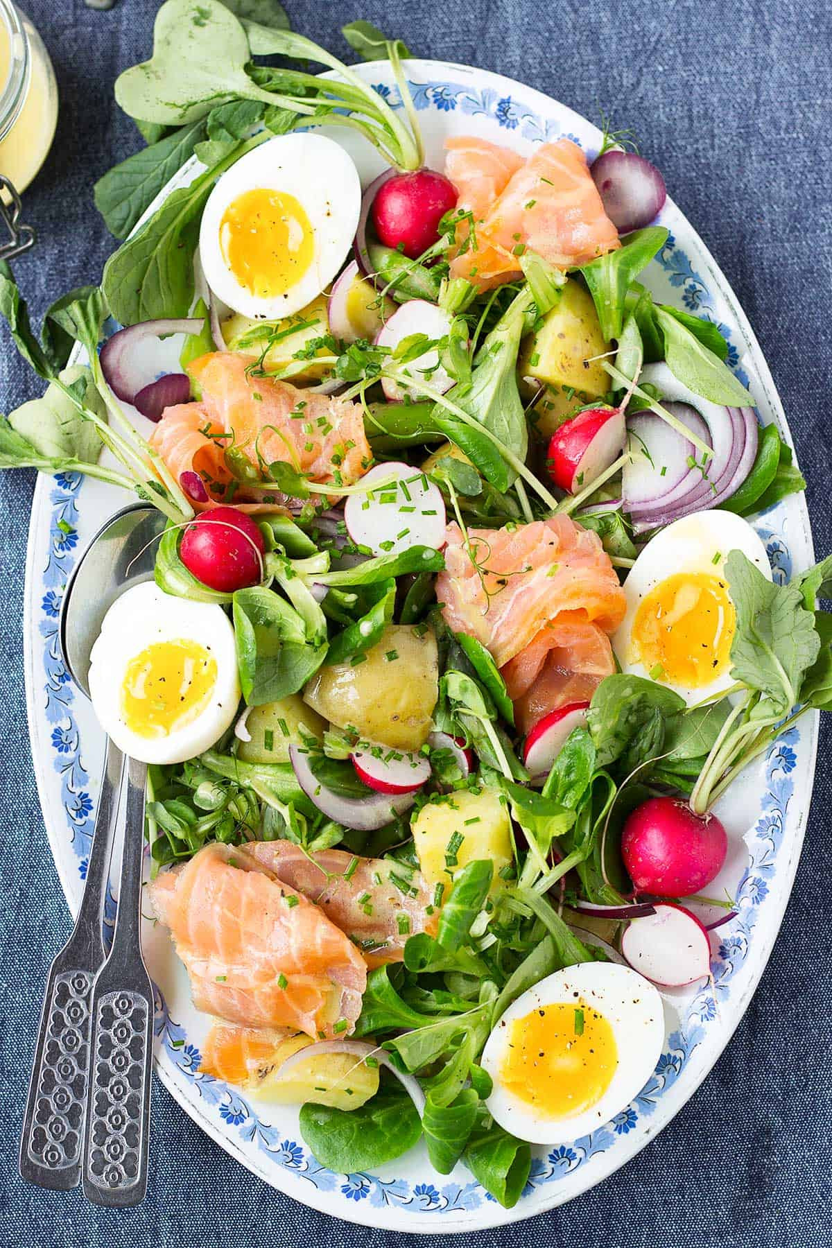 Spring Fish Recipes  Salmon Salad with Dijon Vinaigrette Nutritionist meets Chef