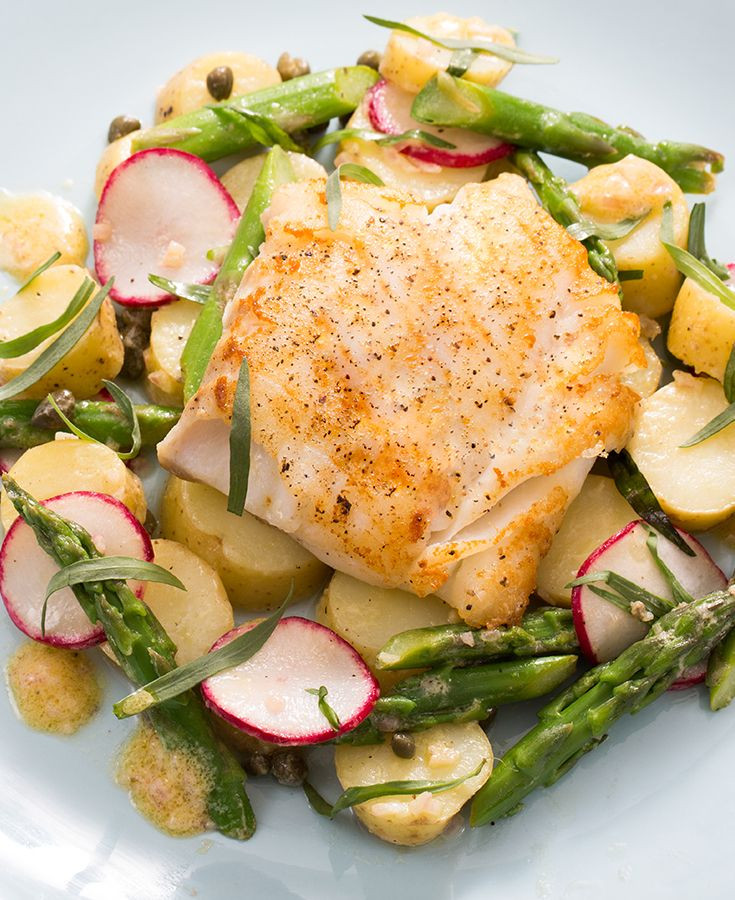 Spring Fish Recipes  24 best blue apron images on Pinterest