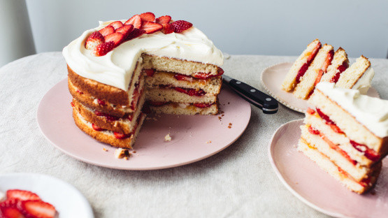 Spring Fling Cake Recipe  Diabetic Spring Fling Layered White Cake Recipe Genius