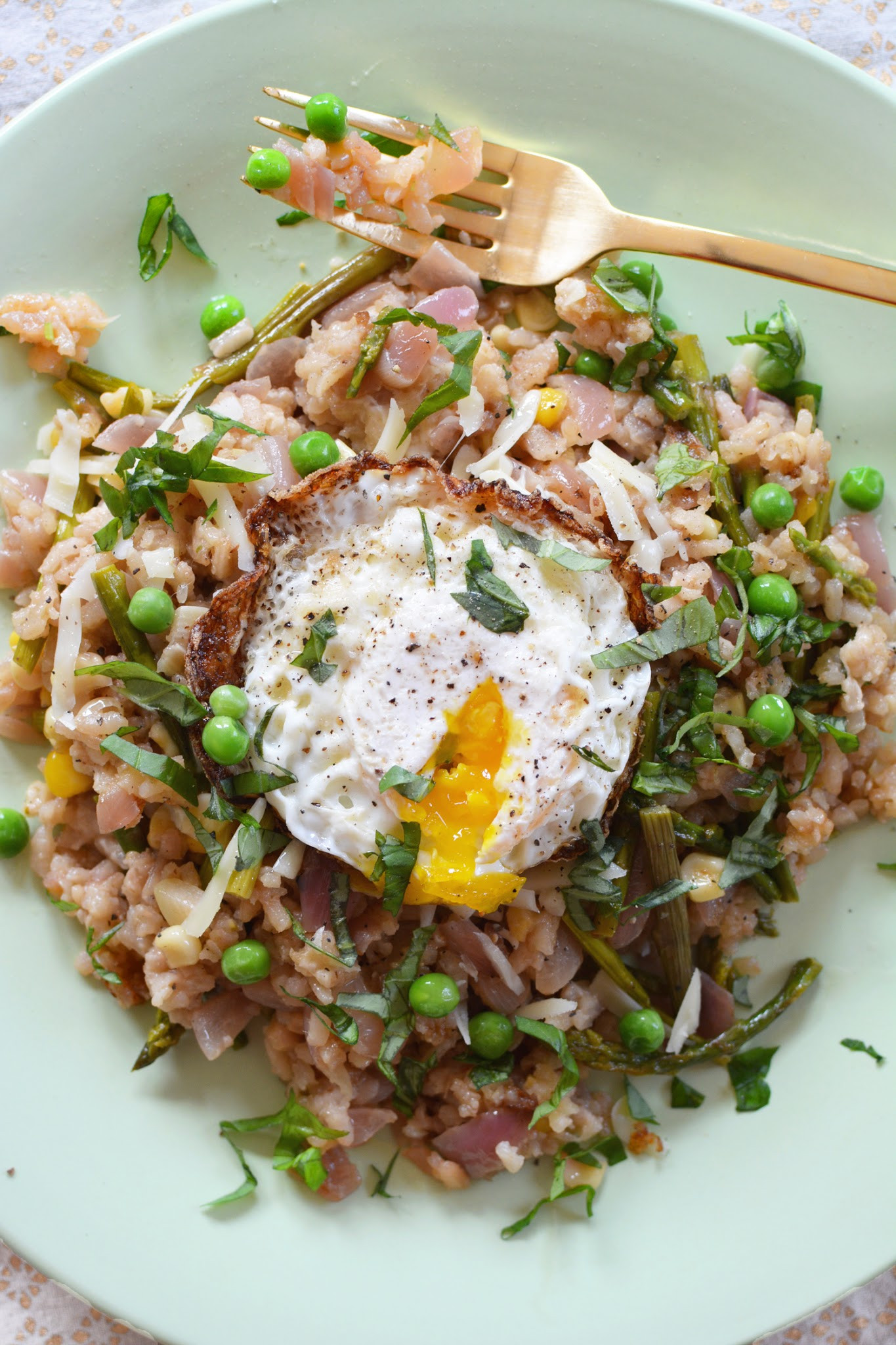 Spring Risotto Recipe  Dreams in HD Recipe Spring Asparagus Risotto with a