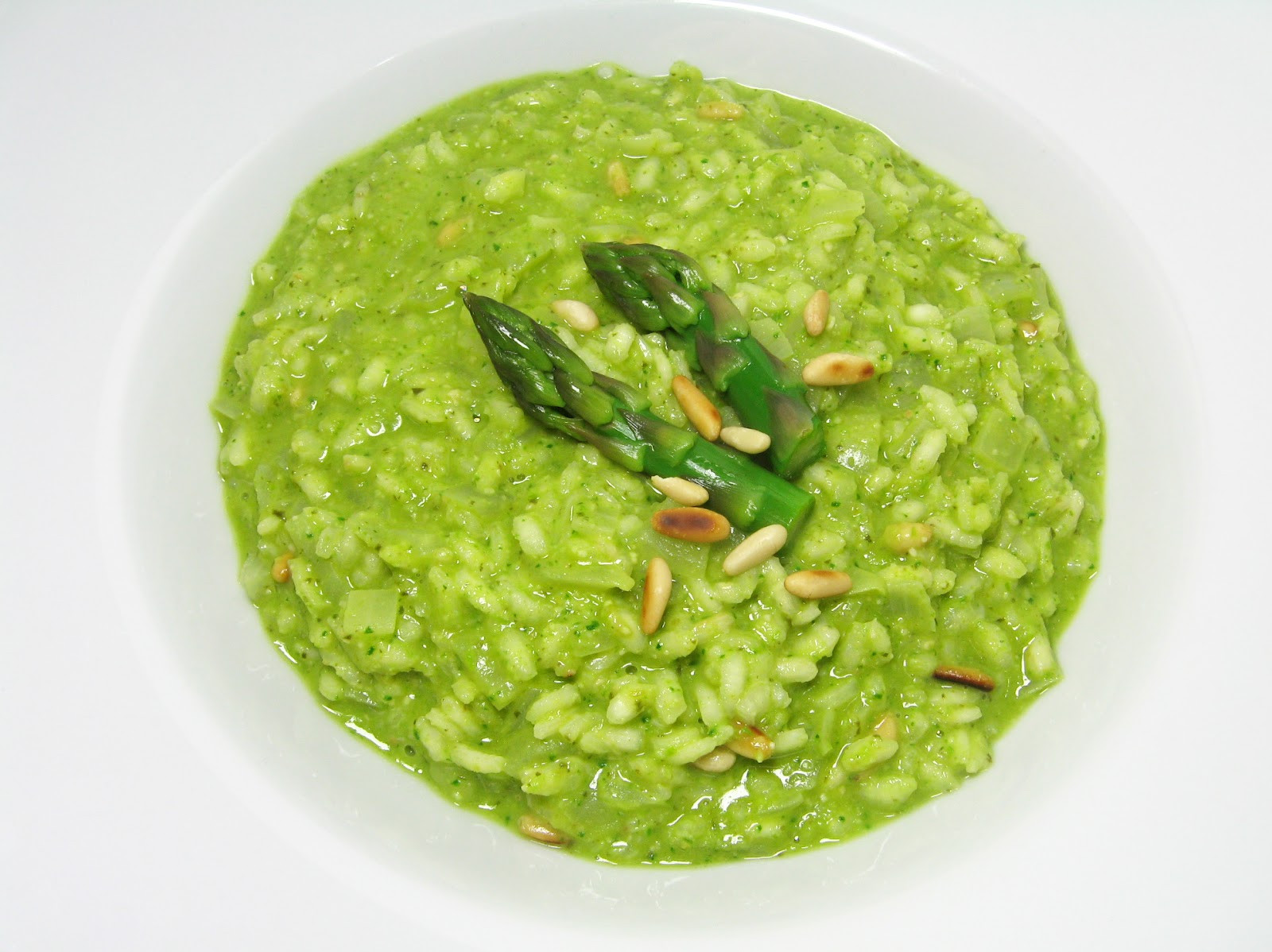 "Spring Risotto Recipe  Burp Recipes Spring Risotto with Asparagus ""Pesto"""