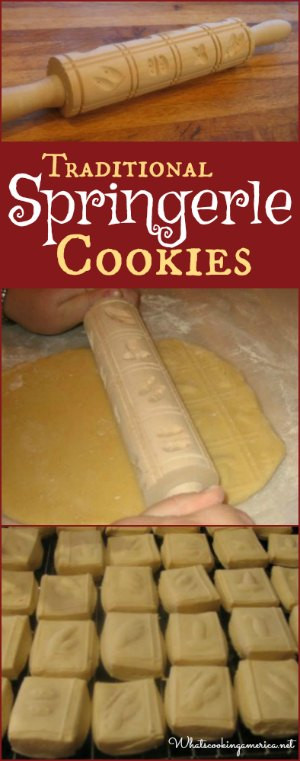 Springerle Cookies Recipe  Springerle Cookies Recipe Whats Cooking America