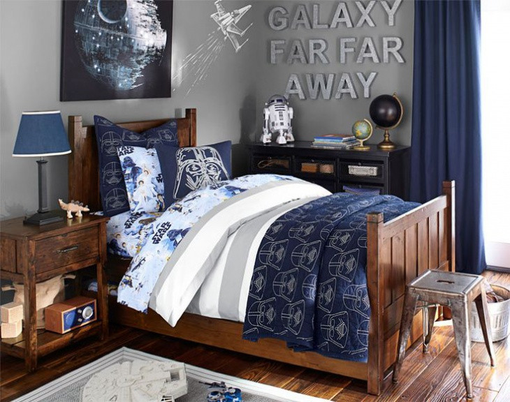 Star Wars Bedroom Decor  16 Star Wars Bedroom Designs Ideas