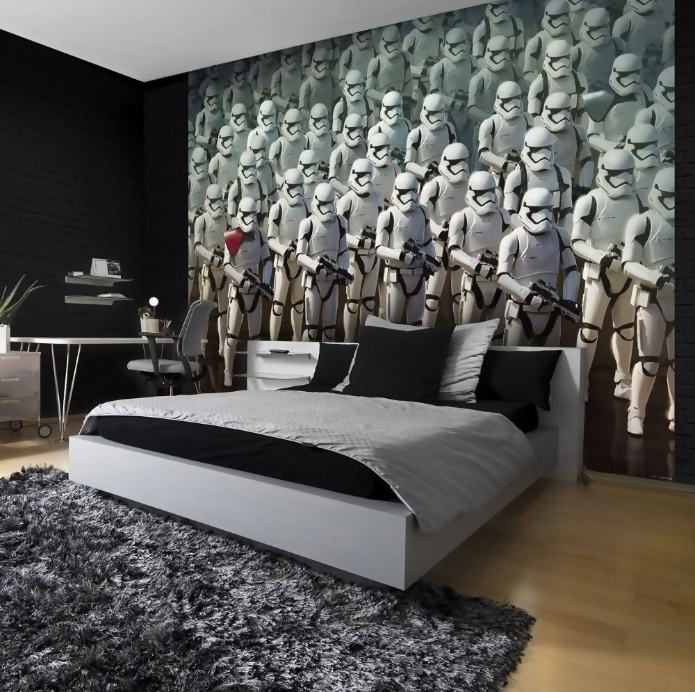 Star Wars Bedroom Decor  Cool Star Wars Bedroom Décor Ideas Interior Design Explained