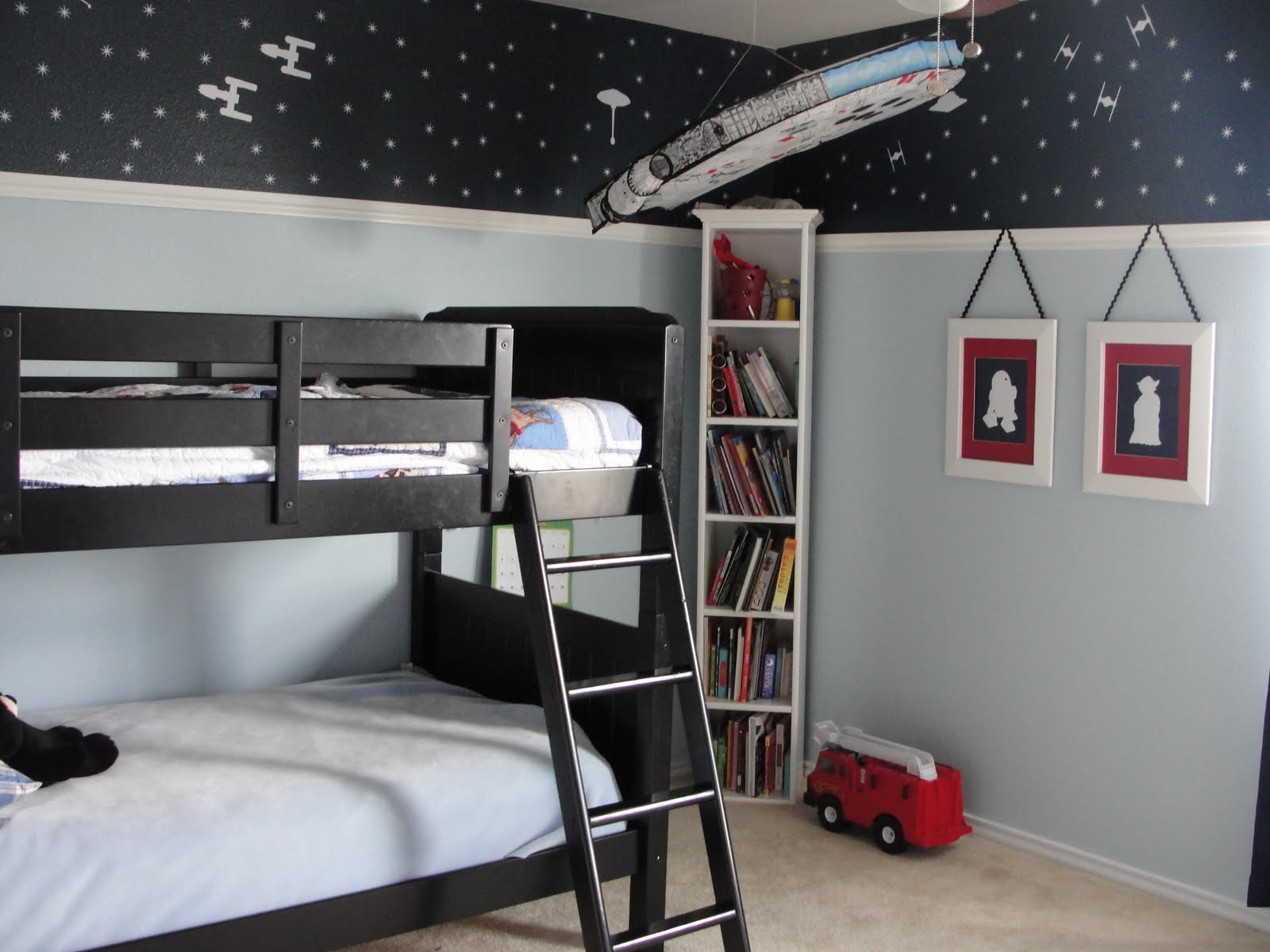 Star Wars Bedroom Decor  Piccadilly Peddlers Boy s Star Wars Room