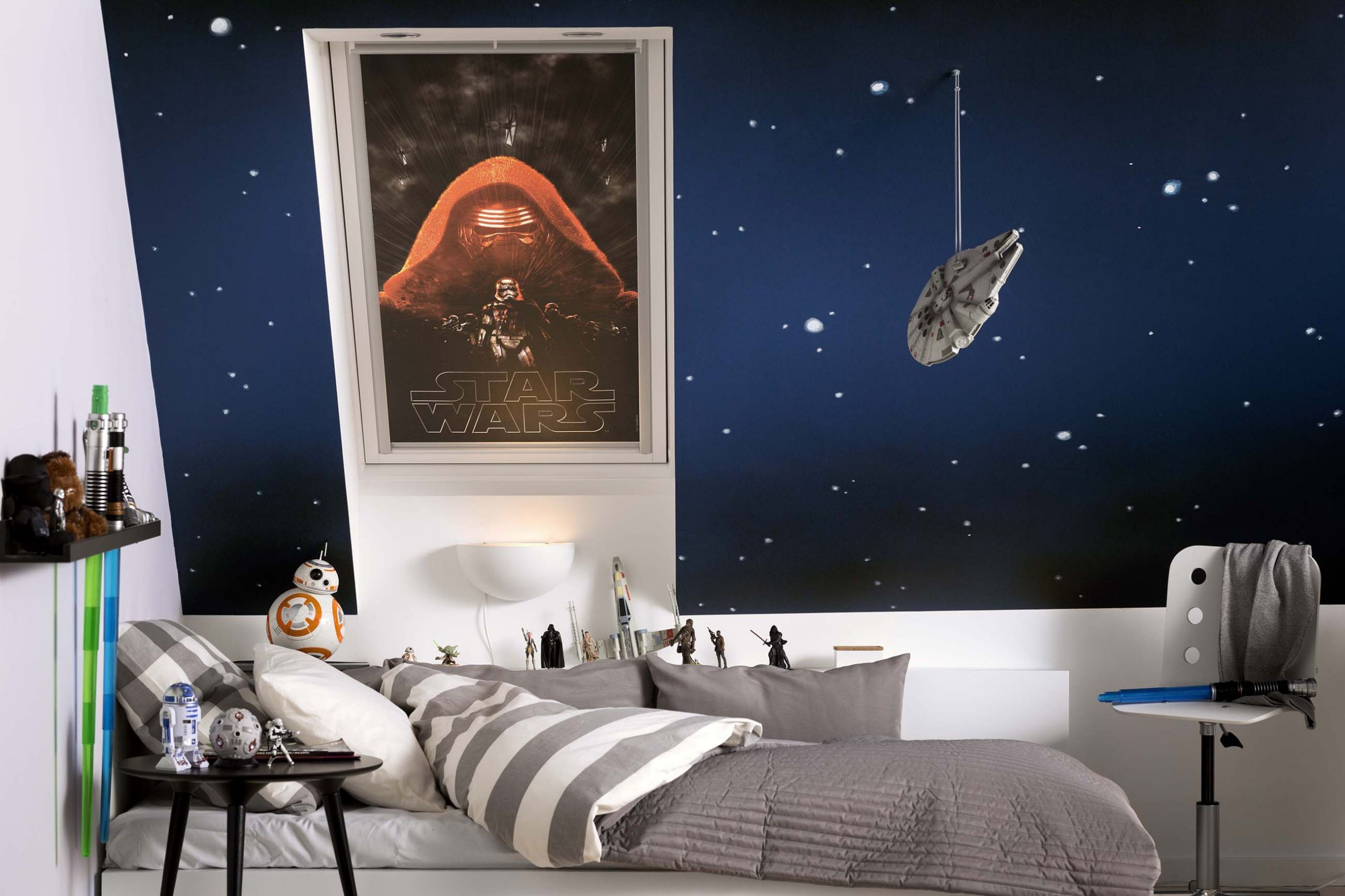 Star Wars Bedroom Decor  STAR WARS FOR YOUR KID'S ROOM – The Interior Directory