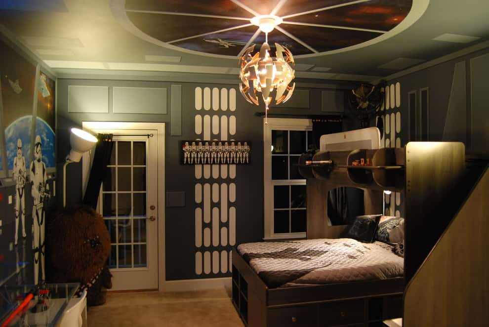 Star Wars Bedroom Decor  Star Wars Home Decor Ideas