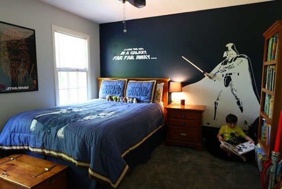 Star Wars Bedroom Decor  Star Wars Room Decor Curious Ways to Make Kid s Bedroom