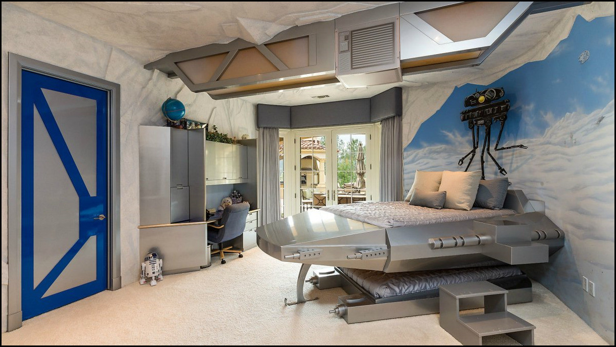 Star Wars Bedroom Decor  21 Wonderfully Geeky Ways To Create The Perfect Star Wars