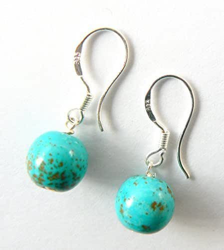 Sterling Silver Earrings Amazon  Turquoise and Sterling Silver Drop Earrings Amazon