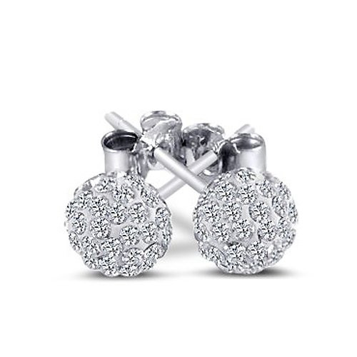 Sterling Silver Earrings Amazon  Sterling Silver Ball Stud Earrings – Amazon Jewelry Deals