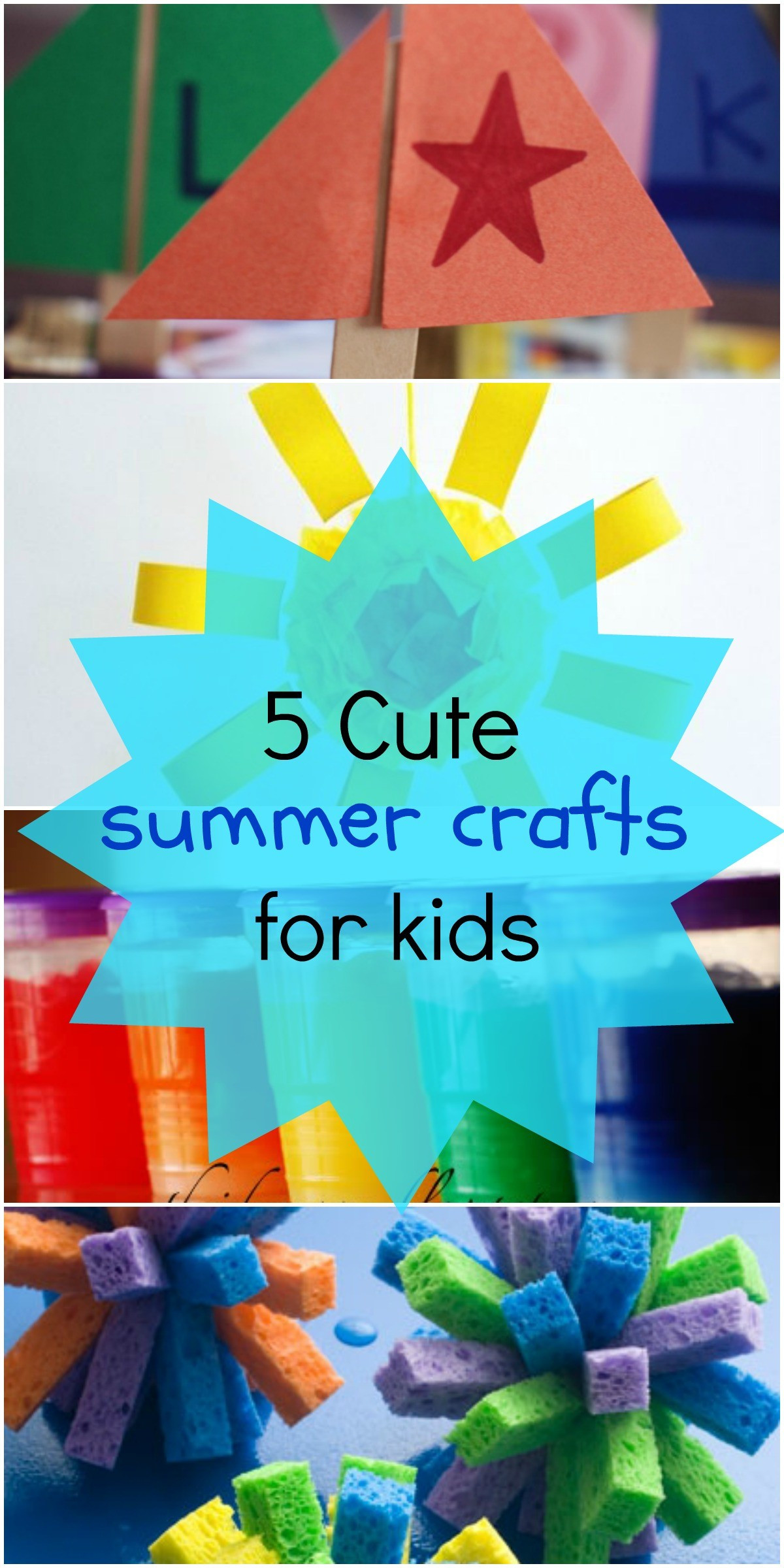 Summer Art Project For Kids  5 Fun Summer Crafts for Kids Love These Art Project Ideas