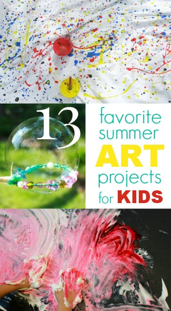 Summer Art Project For Kids  13 Favorite Summer Art Projects for Kids The Artful Parent