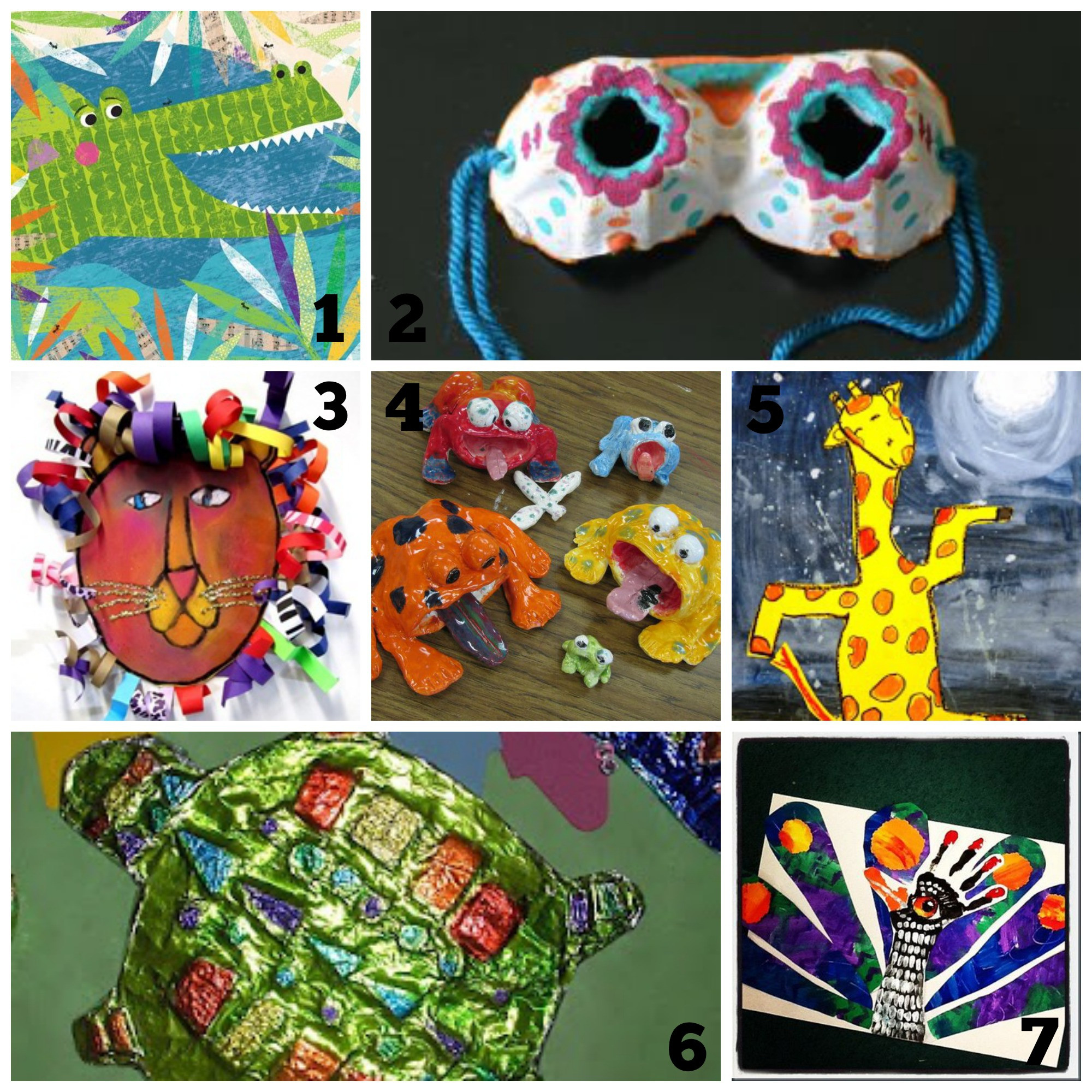 Summer Art Project For Kids  Cool Art Projects Summer Time Fun for Kids Refunk My Junk