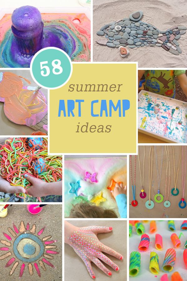 Summer Art Project For Kids  130 best Cool Art Projects for Kids images on Pinterest