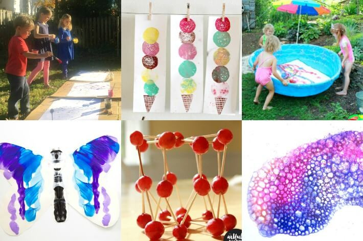Summer Art Project For Kids  100 Summer Crafts & Activities for Kids for a FUN
