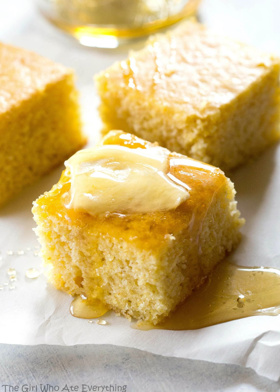 Sweet Corn Bread  The Best Sweet Cornbread The Girl Who Ate Everything
