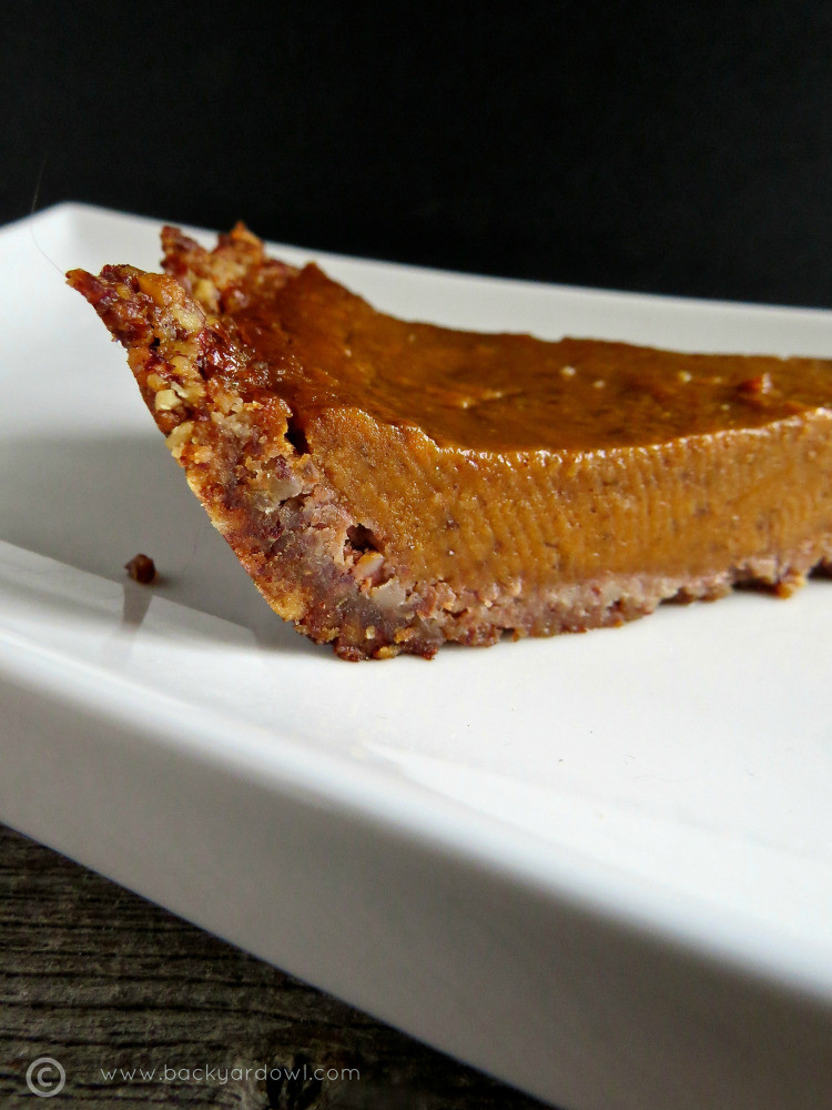 Sweet Potato Pie Crust  Autumn Sweet Potato Pie with Pecan Crust v gf – Eat