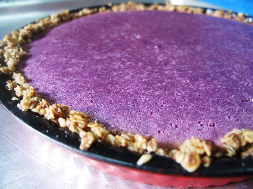 Sweet Potato Pie Crust  Foodiva s Kitchen Purple Sweet Potato Pie with Easy Oats