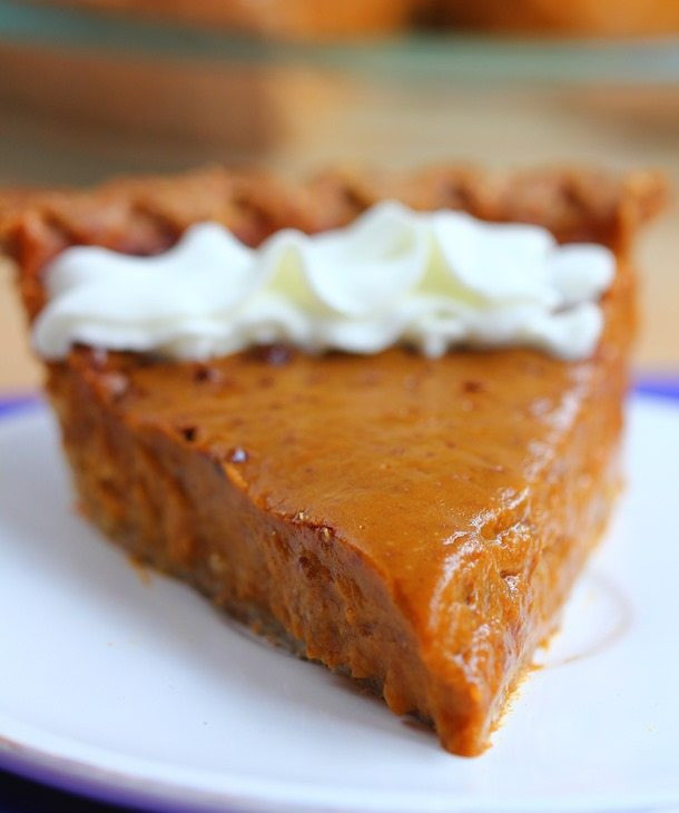 Sweet Potato Pie Crust  Healthy Sweet Potato Pie with homemade pie crust