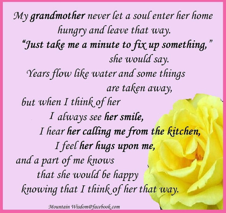 Sympathy Quotes For Loss Of Grandmother  20 best images about Grieving a loved one on Pinterest