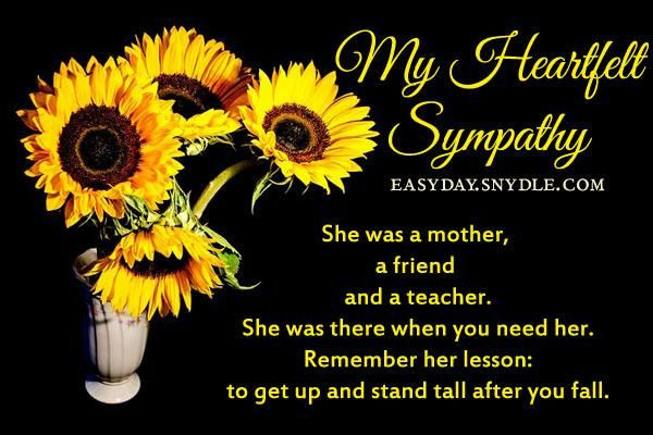 Sympathy Quotes For Loss Of Grandmother  SYMPATHY QUOTES FOR LOSS OF MOTHER AND GRANDMOTHER image