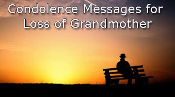 Sympathy Quotes For Loss Of Grandmother  Sad Quotes About Losing Your Grandmother QuotesGram