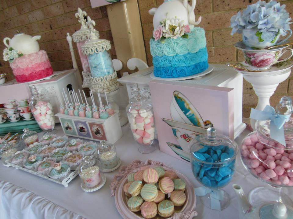 Tea Party Baby Shower Games  High Tea Party Baby Shower Ideas Themes Games