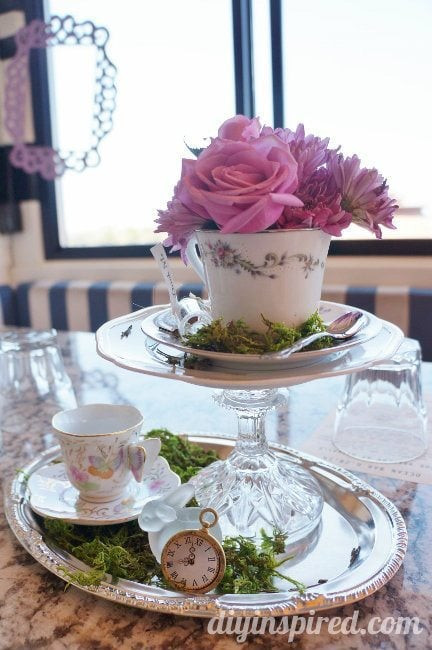 Tea Party Decorations DIY  Tea Party Ideas by the Sea DIY Inspired